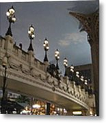 Las Vegas - Paris Casino - 12126 Metal Print by DC Photographer