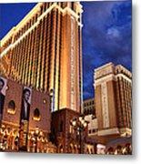 Las Vegas - Venetian Hotel Metal Print