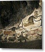 Lascaux II Cave Painting Replica Metal Print