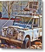 Lasseter Land Rover Metal Print