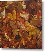Last Fall in Monroe Metal Print