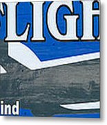 Last Flight Out A Key West State Of Mind - Panoramic Metal Print by Ian Monk