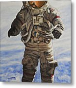 Last Man - Apollo 17 Metal Print