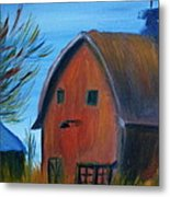 Last Of The Old Farms  Metal Print