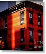 Last Rays Of The Sun - Old Buildings Of New York Metal Print