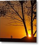 Last Rays Of The Day Metal Print