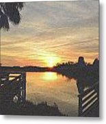 Last Sunset 2012 2 Metal Print