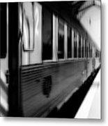Last Train Leaving Paris Metal Print