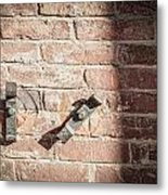 Latches Metal Print
