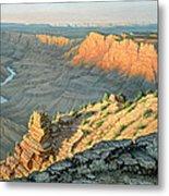 Late Afternoon-desert View Metal Print by Paul Krapf
