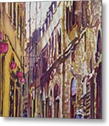 Late Afternoon In Florence Metal Print