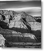 Late Afternoon In The Badlands Metal Print