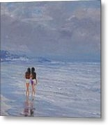 Late Afternoon In The Beach Metal Print