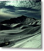 Late Afternoon In The Mountains  Metal Print