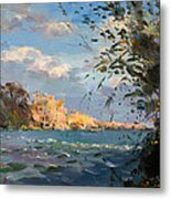 Late Afternoon On Goat Island Metal Print
