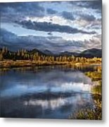 Late Afternoon On The Tuolumne River Metal Print