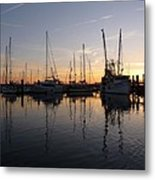 Late Afternoon St. Marys Ga Metal Print