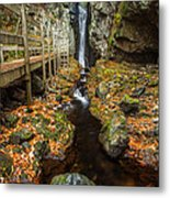 Late Autumn At The Fall Of Song Metal Print