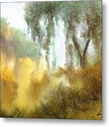 Late Autumn Chill Metal Print