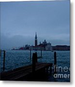 Late Evening In Venice Metal Print