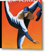 Late Innings Metal Print