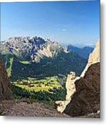 Latemar Mount From Vaiolon Pass Metal Print