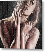 Lather Up Metal Print