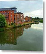 Latimer And Crick Building In Northampton Metal Print