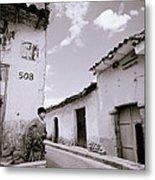 The Alleys Of Cuzco Metal Print