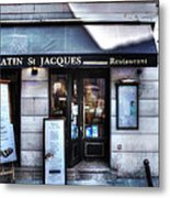 Latin St Jacques Paris France Metal Print