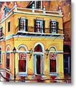 Latrobe Building On Royal Street Metal Print