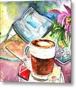 Latte Macchiato In Italy 01 Metal Print by Miki De Goodaboom