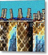 Lattice Metal Print