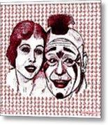 Laugh Clown Laugh Metal Print