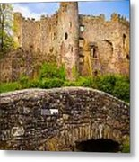 Laugharne Castle Metal Print