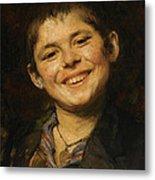Laughing Boy Metal Print