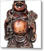 Laughing Buddha Metal Print