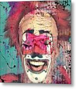 Laughter I Purge  Metal Print
