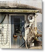 Launch Office Mcmillian Wharf Provincetown Metal Print