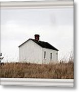 Laundress House At American Camp Metal Print
