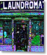 Laundromat 20130731m108 Metal Print by Wingsdomain Art and Photography