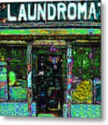 Laundromat 20130731p180 Metal Print by Wingsdomain Art and Photography