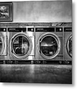 Laundromat Art Metal Print