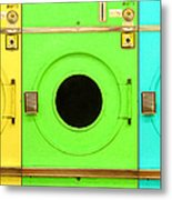 Laundromat Drying Machines Three 20130801 Metal Print by Wingsdomain Art and Photography