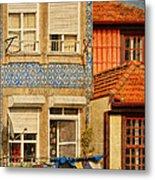 Laundry Day In Porto - Photo Metal Print