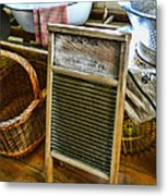 Laundry Day Metal Print