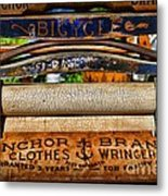 Laundry The Clothes Wringer Metal Print