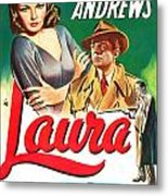 Laura Metal Print by MMG Archives