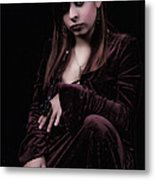 Laura Witch Metal Print