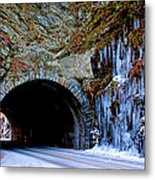 Laurel Creek Road Tunnel Metal Print